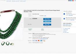 Emerald necklace – Catawiki auction