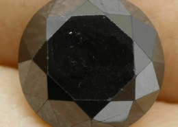10.00cts Natural Black Diamond Ring on eBay: Diamond Treatment – Color Enhanced. Is that ok?