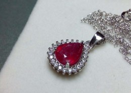 How much this ruby pendant is worth?