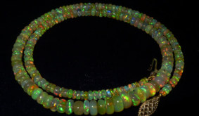 Opals Demystified: How to Get an Opal Necklace with a 14K Gold Clasp for Under $100
