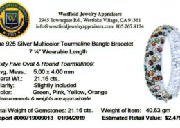 Are jewelry certificates issued by Westfield Jewelry Appraisers credible?