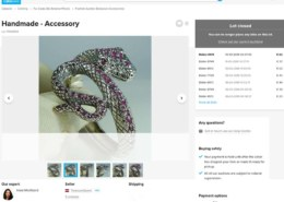 925 Sterling silver Snake bracelet with ruby on Catawiki – what's the true market value?
