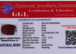 Are globalgemslab (GGL) gemstone certificates fake?